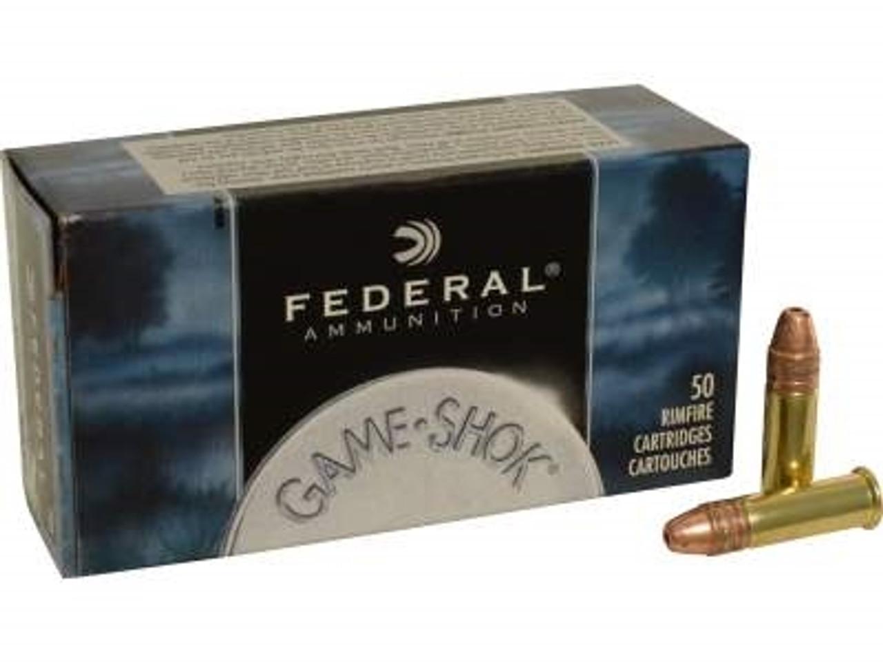 Federal 22LR Game-Shok F724 31 gr Hyper Velocity CPHP 1430 fps BRICK 500  rounds
