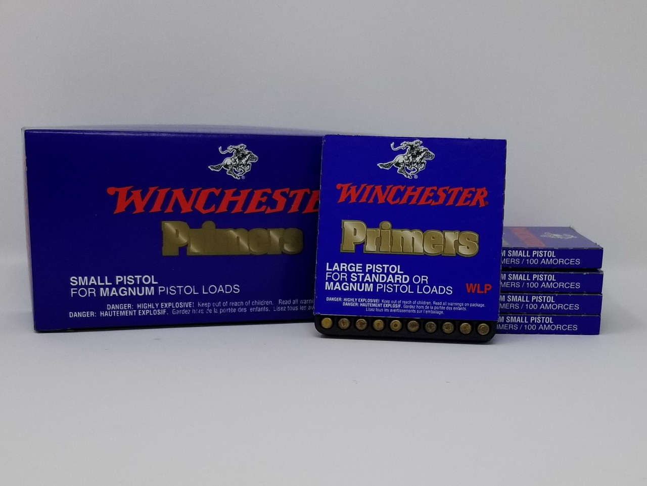 Winchester Primers #7 - 111 Large Regular Pistol WLP 1000 Count