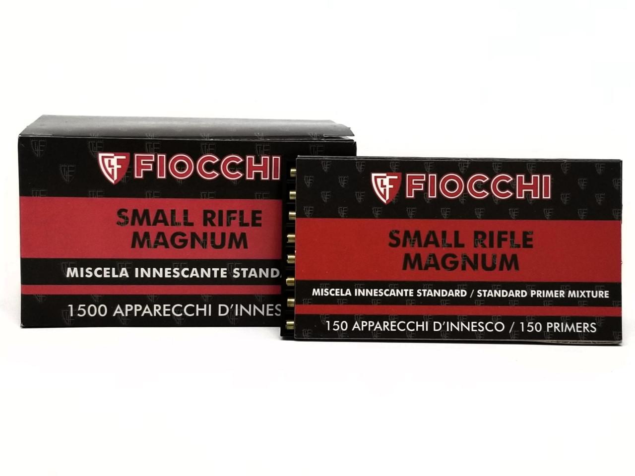 Fiocchi Primers Small Rifle 446SMR 1500 Count