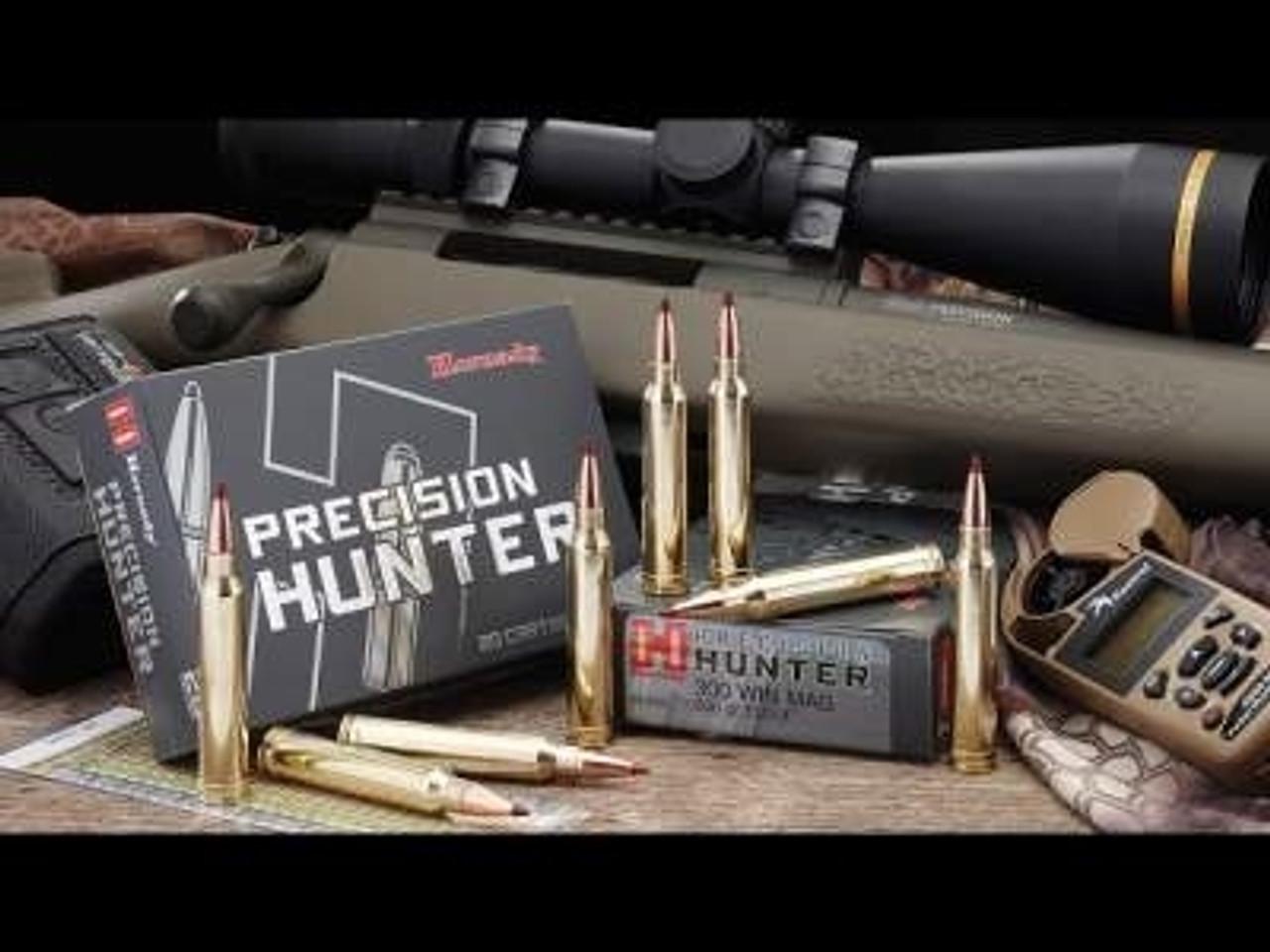 Hornady 28 Nosler Ammunition Precision Hunter 8069 162 Grain ELD-X 20 Rounds