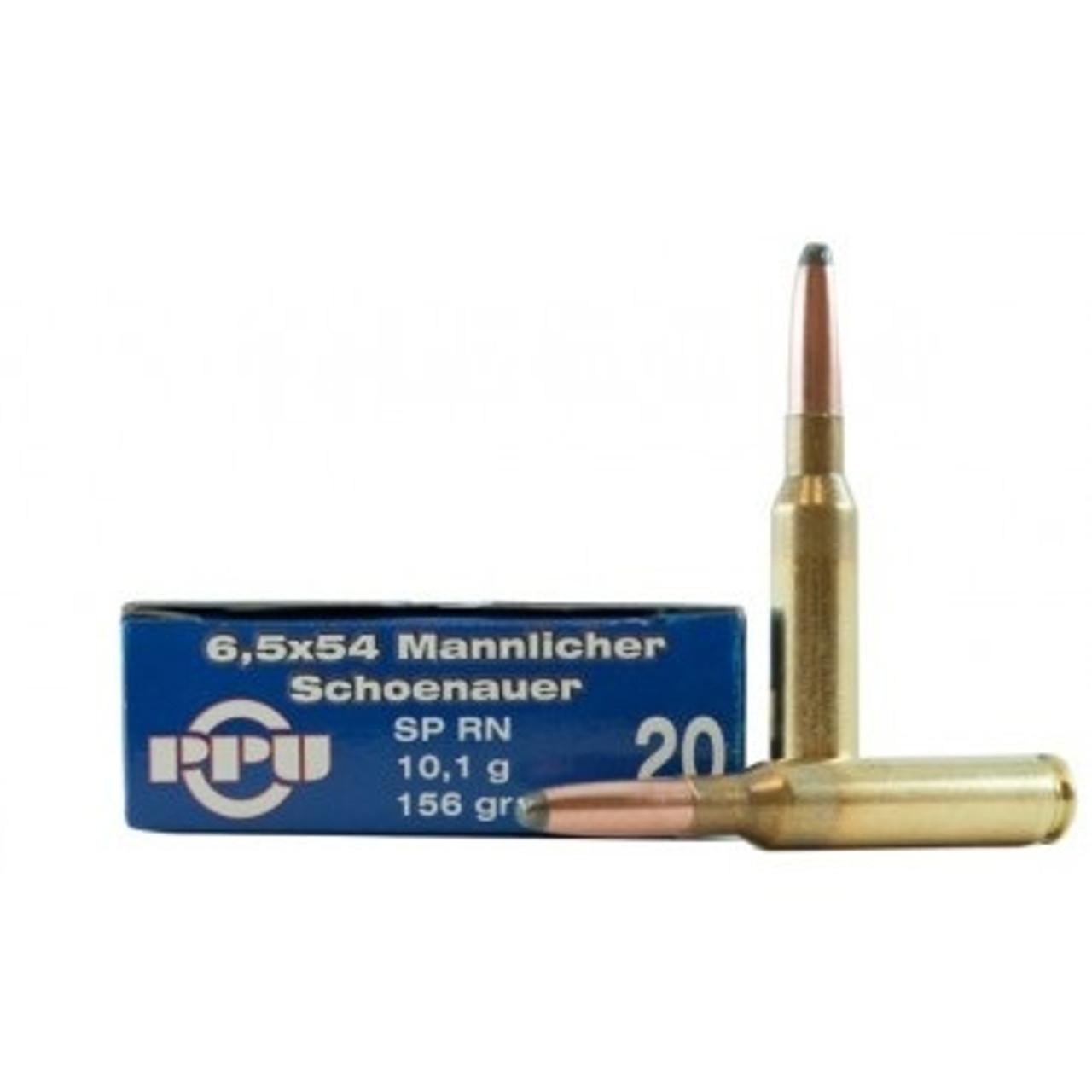 6.5x54mm Schonauer Ammo