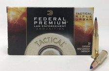 Federal 308 Win Ammunition Tactical Rifle Urban T308T 168 Grain Tactical Tip Matchking 20 Rounds
