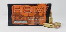 HSM 243 WSSM Ammunition 243WSSM3N 75 Grain V-Max 20 Rounds