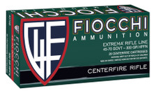 Fiocchi 45-70 Gov't Ammunition 4580B 300 Grain Jacketed Hollow Point 20 Rounds