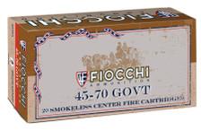 Fiocchi 45-70 Government Ammunition 4570A 405 Grain Lead Round Nose Flat Point 20 Rounds