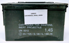 Israeli Military Surplus Remington 38 S&W Ammunition AM2949CAN 146 Grain Lead Soft Point Bulk Pack 1000 Rounds