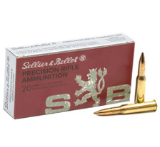 Sellier & Bellot 7.62x54R Ammunition SB76254RC 174 Grain Hollow Point Boat Tail 20 Rounds