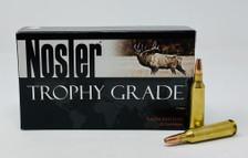 Nosler 22-250 Rem Ammunition 60017 Trophy Grade 64 Grain Bonded Solid Base Soft Point 20 Rounds