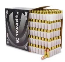Federal 9mm Luger Ammunition Black Pack C9115BP250 115 Grain Full Metal Jacket CASE 1000 Rounds