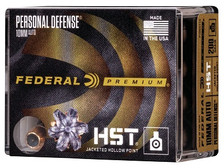 Federal 10mm Ammunition Hydra-Shok P10HST1S 200 Grain Jacketed Hollow Point 20 rounds