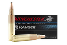 Winchester 5.56x45mm Ammunition RA556B Ranger 64 Grain Bonded Soft Point 20 Rounds