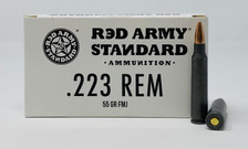 Century Red Army Standard 223 Rem Ammunition 55 Grain Full Metal Jacket CASE 1000 Rounds