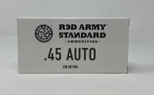 Century Red Army Russian 45 Auto Ammunition Steel AM3262 230 Grain Full Metal Jacket 50 Rounds