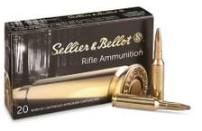 Sellier & Bellot 6.5 Creedmoor Ammunition SB65D 156 Grain Soft Point 20 Rounds