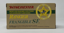 Winchester 357 Sig Ammunition Ranger 100 Grain Frangible SF Lead Free 50 Rounds