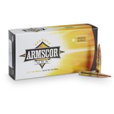 Armscor USA 300 AAC Blackout Ammunition ARM300BLKAMAX 208 Grain AMAX CASE 200 Rounds