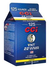 CCI 22 WMR Ammunition 929CC 30 Grain VNT 125 Rounds