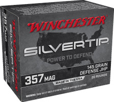 Winchester 357 Mag Ammunition W357ST 145 Grain ST Hollow Point 20 Rounds