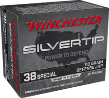 Winchester 38 Special Ammunition W38ST 110 Grain ST Hollow Point SX 20 Rounds