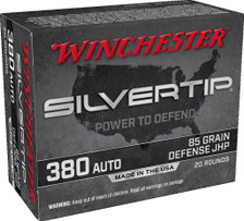 Winchester 380 Auto Ammunition W380ST 85 Grain ST Hollow Point SX 20 Rounds