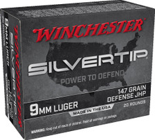 Winchester 9mm Luger Ammunition W9MMST2 147 Grain ST Hollow Point 20 Rounds