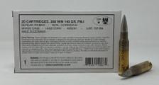 Sportwaffen German Military Surplus 308 Win Ammunition 148 Grain Full Metal Jacket CASE 1000 Rounds