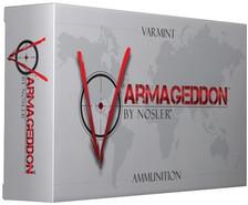 Nosler Varmageddon 223 Rem Ammunition 40223 62 Grain Flat Base Hollow Point 20 Rounds
