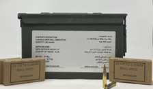 Federal Lake City 5.56x45mm M855 Ball Ammunition 62 Grain Green Tipped Full Metal Jacket Can 820 Rounds