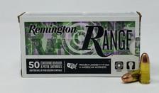 Remington 9mm Luger Ammunition RT9MM3 115 Grain Full Metal Jacket CASE 500 Rounds