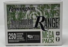 Remington 9mm Luger Ammunition T9MM3A 115 Grain Full Metal Jacket CASE 1000 Rounds