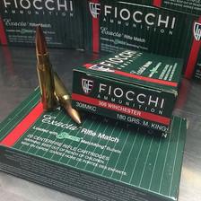 Fiocchi Exacta Match 308 Win FI308MKC 180 Grain Boat Tail Hollow Point 20 Rounds