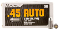Century Arms Hotshot 45 Auto Ammunition AM2042 230 Grain Full Metal Jacket 50 Rounds