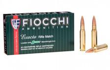 Fiocchi Exacta 308 Win Ammunition FI308MKD 175gr Sierra Match King Hollow Point Boat Tail 20 Rounds
