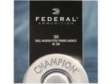 Federal Small Magnum Pistol Primer 0200 1000 count