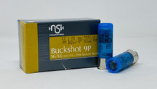"NobelSport 12 Gauge Ammunition 2-3/4"" 00 Buck 9 Pellet Low Recoil CASE 250 Rounds"