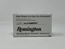 """Remington 12 Gauge Ammunition RR12RSBDHS 2-3/4"""" 1 oz Reduced Recoil Slugger CASE 250 Rounds"""