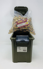 Precision One 7.62x51mm NATO Ammunition PONE252 147 Grain Full Metal Jacket 250 Rounds