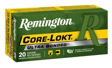 Remington 223 Remington Ammunition Core-Lokt R223R8 62 Grain Ultra Bonded Pointed Soft Point 20 Rounds