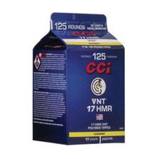 CCI 17 HMR Ammunition CCI923CC 17 Grain VNT Polymer Tipped Carton 125 Rounds