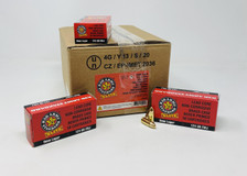 Century Arms Red Army Standard 9mm Luger Ammunition AM3295 124 Grain Full Metal Jacket 50 Rounds