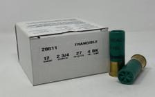 """Remington Tactical Breaching 12 Gauge Ammunition TB12BK 2-3/4"""" 27 Pellets 4 Buck CASE 250 Rounds"""
