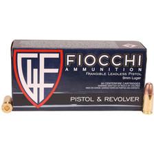 Fiocchi 9mm Luger Frangible Ammunition FI9FRANG 100 Grain Frangible 50 Rounds