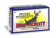Peters Premium Blue 308 Win Ammunition P308WB 165 Grain Blue Tipped Ballistic Tip 20 Rounds