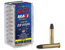 CCI 22 WMR Ammunition CCI972CC 46 Grain Polymer Coated Segmented Hollow Point 50 Rounds