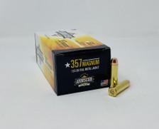 Armscor 357 Magnum Ammunition FAC3572N 125 Grain Full Metal Jacket 50 Rounds
