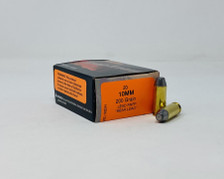 HSM 10mm Auto Ammunition HSM-10MM-9-N-20 200 Grain Lead Round Nose Flat Point Bear Load 20 Rounds