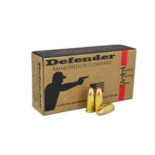 Defender 9mm Luger Ammunition DEF9MM115 115 Grain Full Metal Jacket REMAN 50 Rounds