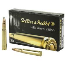 Sellier & Bellot 8x57 JS Ammunition JSSB867JSB 196 Grain Soft Point 20 Rounds