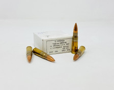 Yugoslavian Surplus 7.62x39mm Ammunition M67CRATE Non-Magnetic Copper Full Metal Jacket CRATE 1260 Rounds