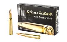 Sellier & Bellot 30-06 Springfield Ammunition SB3006A 180 Grain Full Metal Jacket 20 Rounds